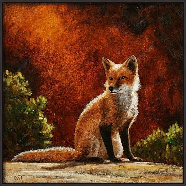 Crista Forest - Sun Fox Print