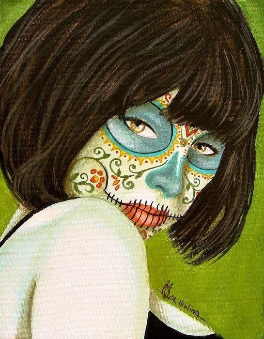 Al  Molina - La Muerte en Verde Print