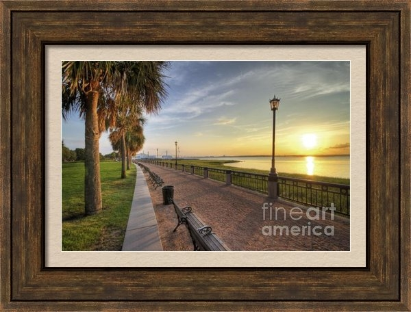 Dustin K Ryan - Charleston SC waterfront ... Print