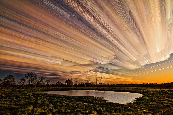 Matt Molloy - Orange Sky Print