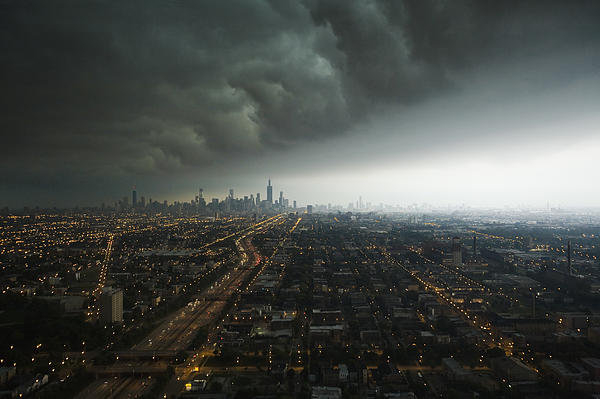 Joe Wigdahl - Chicago Storm Print