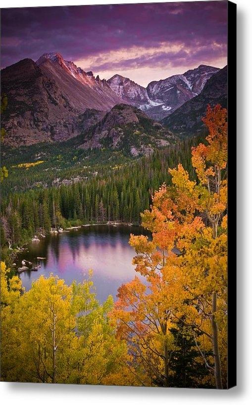 Mike Berenson - Aspen Sunset Over Bear La... Print
