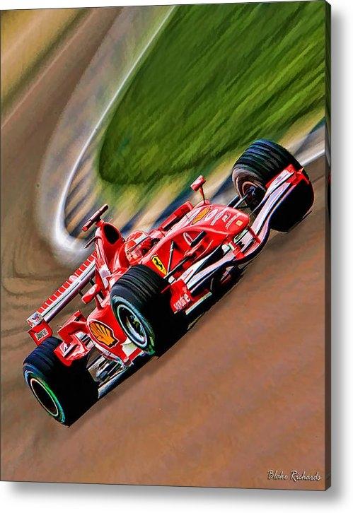 Blake Richards - Schumacher Bend Print