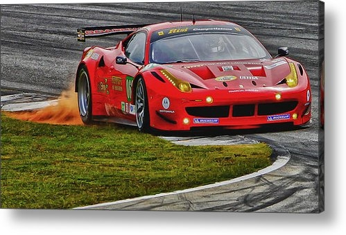 Bill Linhares - Ferrari Print