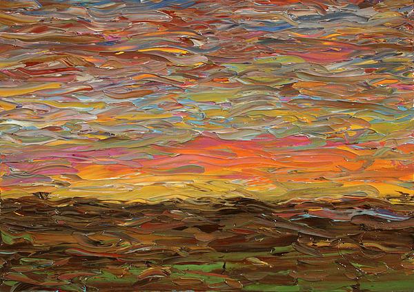 James W Johnson - Sunset Print