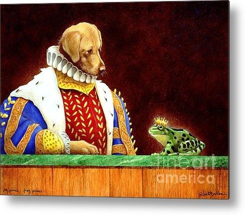 Will Bullas - Dog Prince...Frog Prince.... Print
