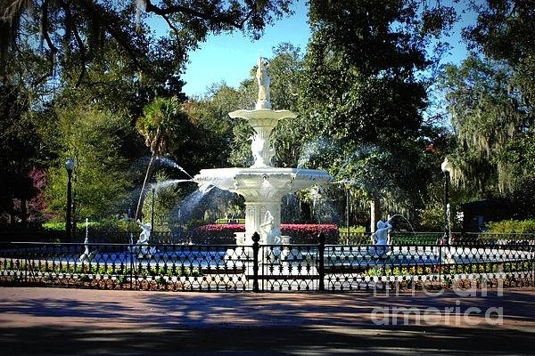 Carol Groenen - Forsyth Park Fountain in ... Print