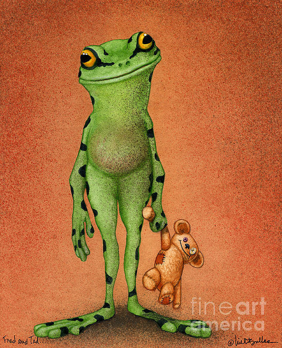 Will Bullas - Fred and Ted... Print