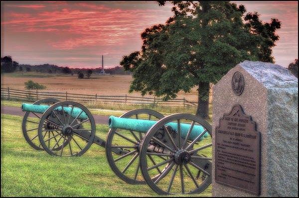Randy Steele - Battery F Cannon Gettysbu... Print