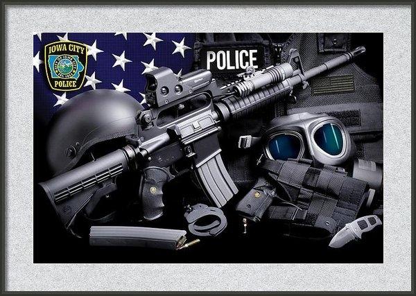 Gary Yost - Iowa City Police Tactical Print