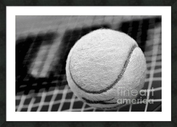 Kaye Menner - Remember the White Tennis... Print