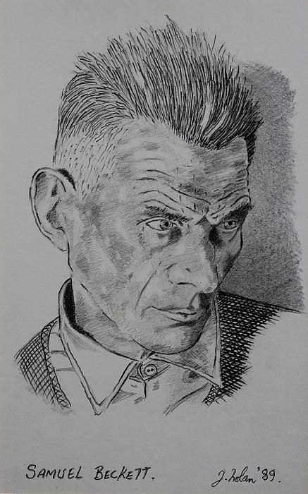 John  Nolan - Samuel Beckett Print