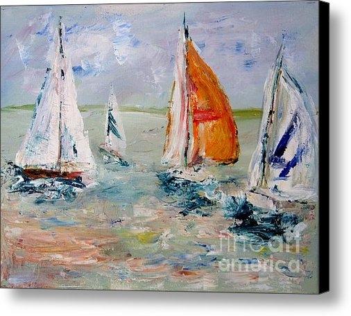 Julie Lueders  - Sailboat studies 3 Print