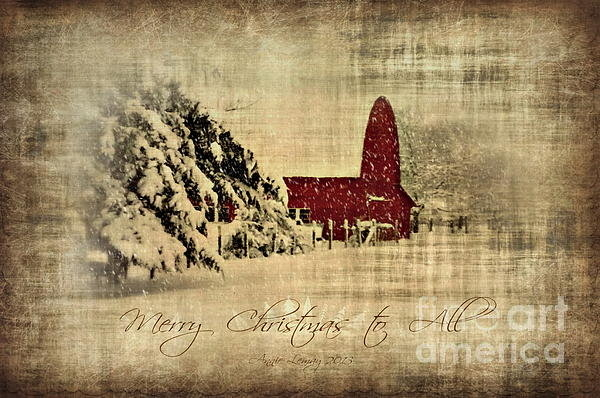 Annie Lemay - Merry Christmas and Happy... Print