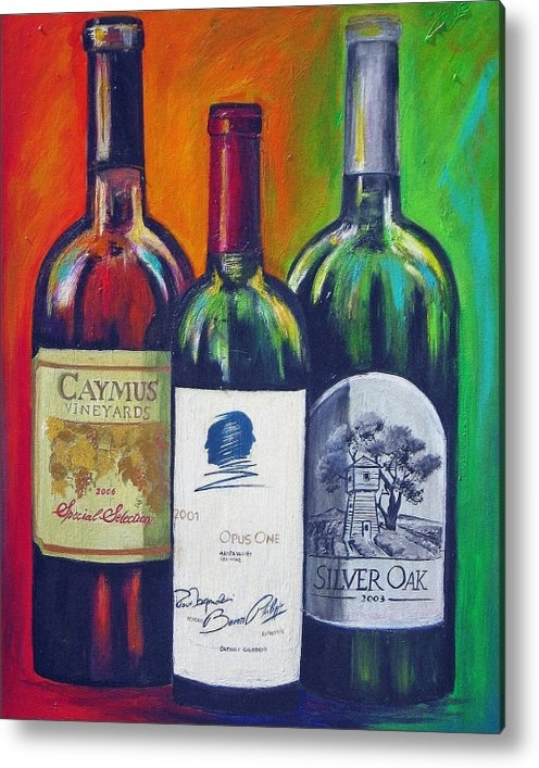 Sheri  Chakamian - Opus One Caymus and  Silv... Print