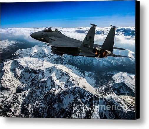 Paul Heasman - F-15 Strike Eagle Print