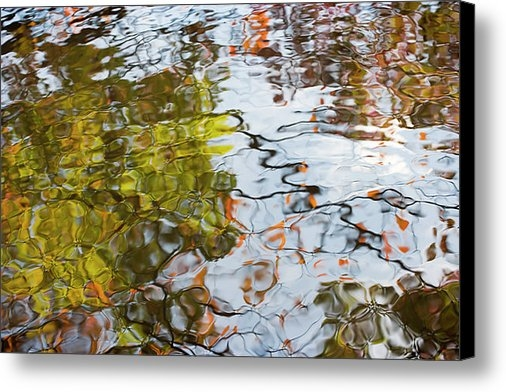 Andria Patino - Autumn Reflections on wat... Print
