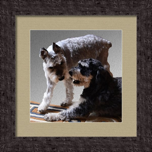 Ken Stampfer - Will and Atticus Print