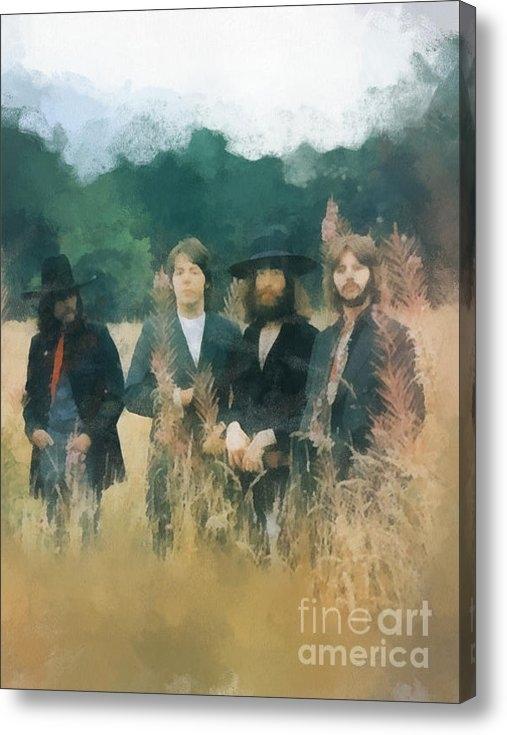Paulette B Wright - The Beatles Print