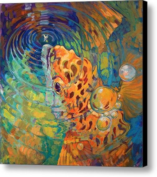 Mike Savlen - Trout Rise Print