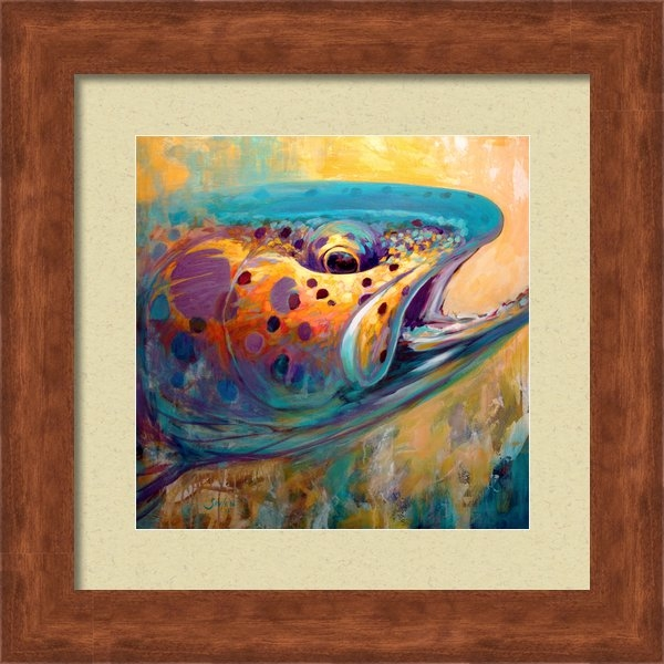 Mike Savlen - Fire From Water - Rainbow... Print