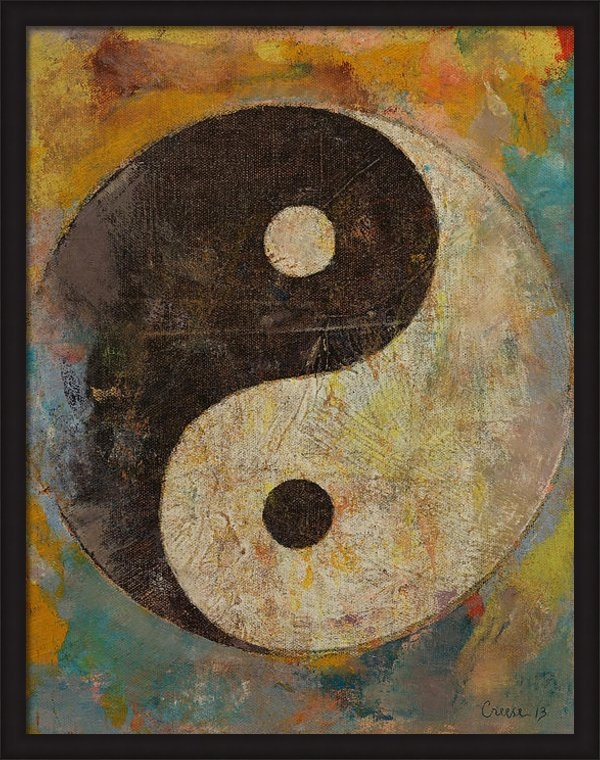 Michael Creese - Yin Yang Print