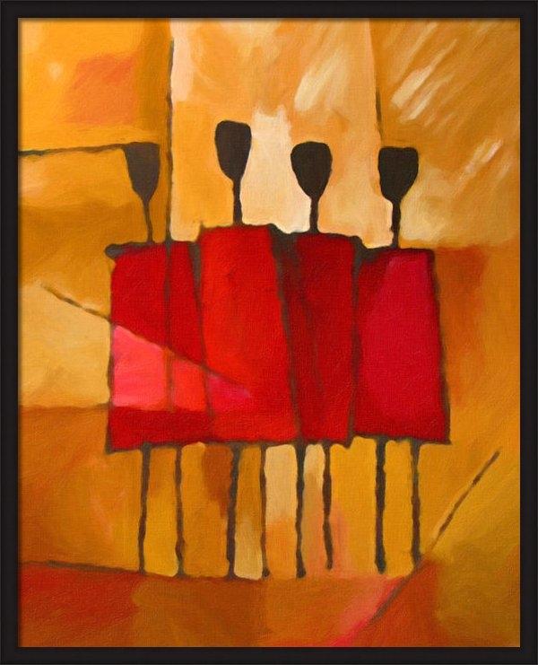 Lutz Baar - Maasai Group Print