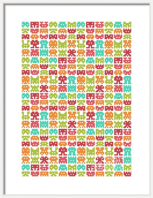Budi Satria Kwan - 8 Bit Monster Print
