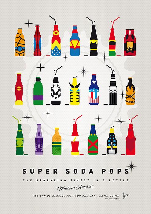 Chungkong Art - My SUPER SODA POPS No-00 Print