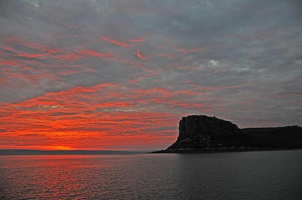 Casey Herbert - Sunset Rock Print
