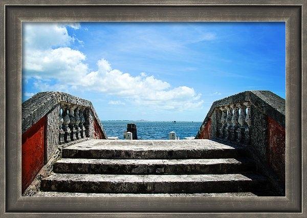 Vanessa Tellez - Sea Stairs Print