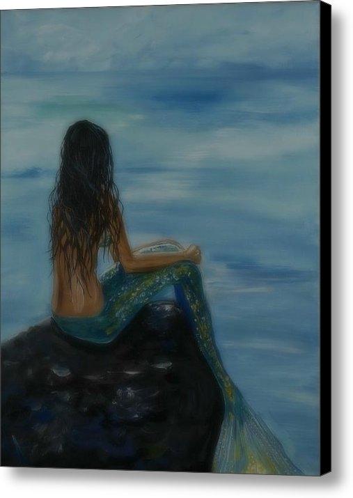 Leslie Allen - Mermaid Mist Print