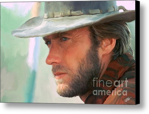Paul Tagliamonte - Clint Eastwood Print