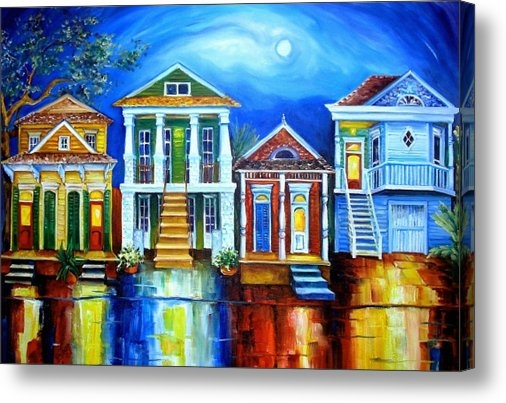 Diane Millsap - Moon Over New Orleans Print