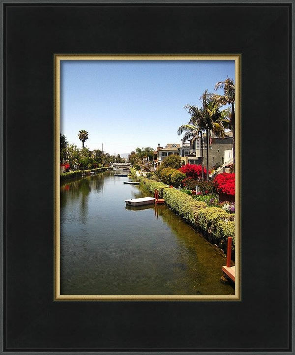 Rosie McCobb - Venice Canal 1 Print
