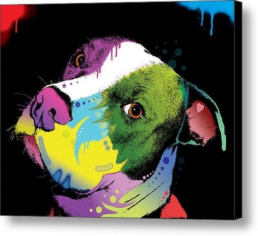 Dean Russo - Dripful Pitbull Print