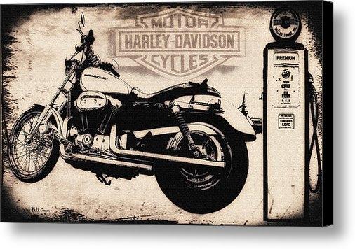 Bill Cannon - Harley Davidson Motor Cyc... Print