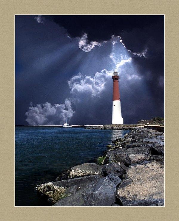Skip Willits - Barnegat Inlet Lighthouse... Print