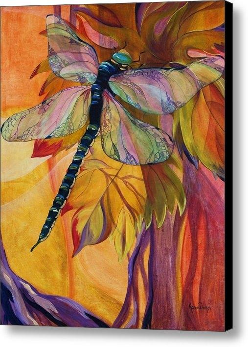 Karen Dukes - Vineyard Fantasy Print