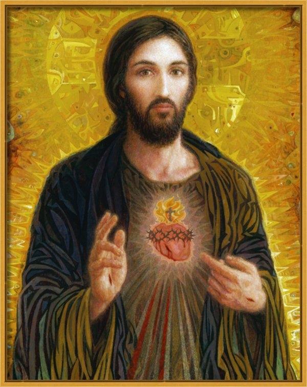 Smith Catholic Art - Sacred Heart of Jesus Print