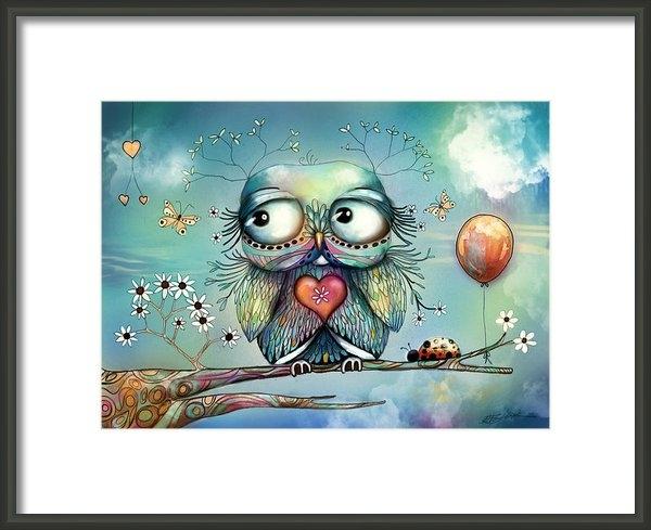 Karin Taylor - Little Wood Owl Print