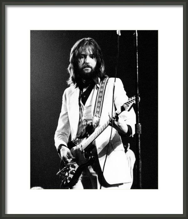 Chris Walter - Eric Clapton 1973 Print