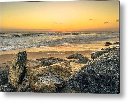 DM Photography- Dan Mongosa - Coquina Rocks Sunrise in ... Print