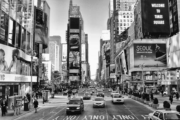 Naman Imagery - Time Square Day Print
