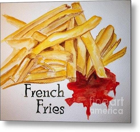 Carol Grimes - French Fries Print
