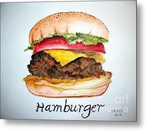 Carol Grimes - Hamburger 1 Print