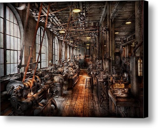 Mike Savad - Machinist - A fully funct... Print