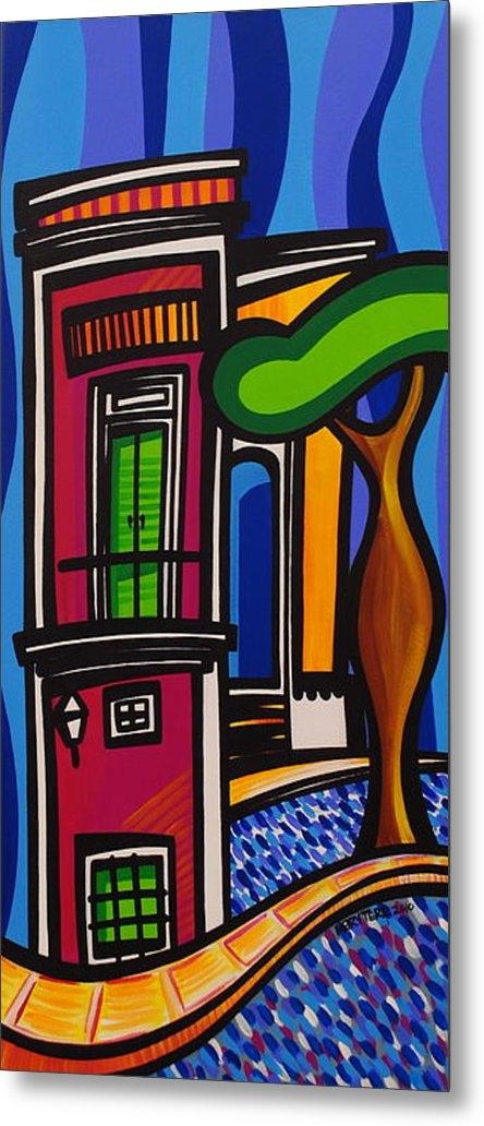 Mary Tere Perez - The Green Door Print