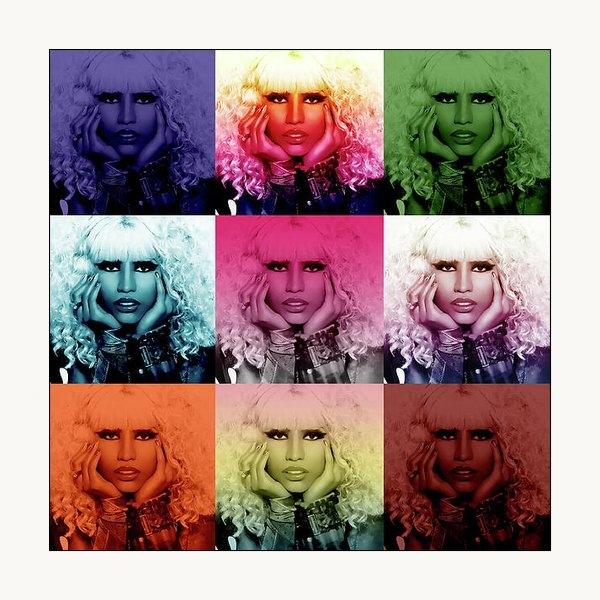 Anibal Diaz - Nicki Minaj by GBS Print