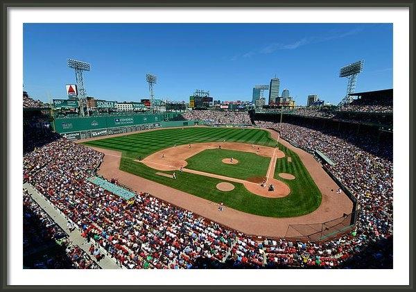 Mark Whitt - Fenway Park - Boston Red ... Print
